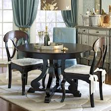 Pier 1 Dining Table Chairs by Marchella Rubbed Black 48