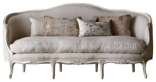 canape louis 15 louis xv seraphine canape sofa in gesso and fog linen upholstery