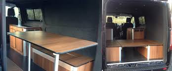 Ford Transit Conversion For Kite Surfing And Skiing