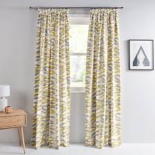 Thermal Lined Curtains Ireland by Buy John Lewis Lina Leaf Thermal Lined Pencil Pleat Curtains