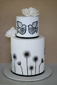 Black & White Wedding Cakes Source media cache ec3 pinterest