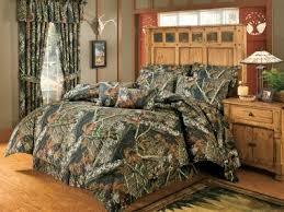 Camouflage Bedding Queen by Cabela U0027s Four Piece Camo Bedding Set U2013 Mossy Oak Break Up Camo
