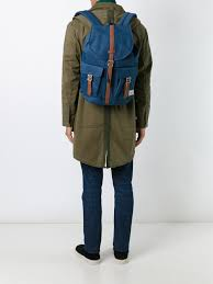 Blue Buckled Strap Backpack From Herschel Supply Co Men Backpacks Travel Accessoriesreliable