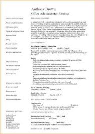 Administration duties for resume Business Proposal Templated