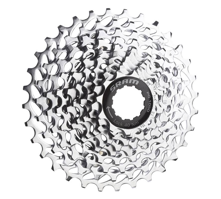 SRAM PG-1050 Powerglide Cassette - 10 Speed, 12-27t