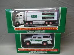 100 Hess Trucks 2013 Amazoncom Truck Mini Miniature Lot Set 2009 2010 2011