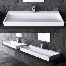 mineralguss waschbecken badmöbel aufsatzwaschbecken