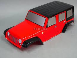 100 Rc Truck Bodys RC Body Shell 110 Crawler JEEP WRANGLER RU In Toys