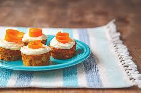 Skinny Mini Carrot Cake dessertfortwo