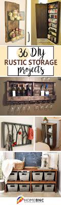 DIY Rustic Storage Project Ideas