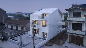 100 Home And Architecture A Winding Wheelchair Ramp Determines The Facade Form Of