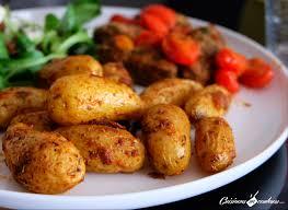 cuisiner des pommes de terre ratte pommes de terre aux épices rôties cuisinons en couleurs
