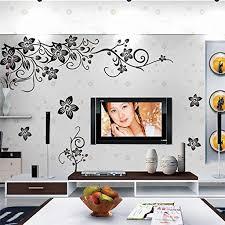 diy blumen 3d wandtattoo wandsticker wanddekoration aufkleber wohnzimmer ornament