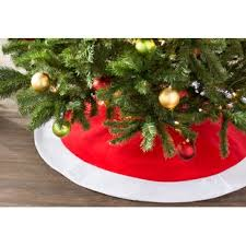 Wayfair Basics Felt Christmas Tree Skirt