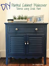 DIY Painted Furniture Makeover using Chalk Paint The Chirping Moms