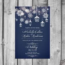 Wedding Invitations Winter Best 25 Ideas Awesome