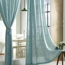 Sheer Cotton Voile Curtains by Buy Cotton Voile Curtains And Get Free Shipping On Aliexpress Com