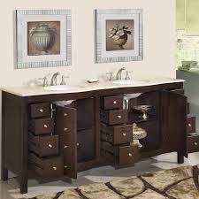 72 Inch Wide Double Sink Bathroom Vanity by Walnut Bathroom Vanity Bathroom Decoration