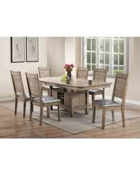 Acme Furniture Ramona 7 Piece Rectangular Dining Table Set