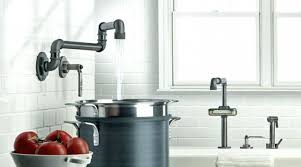Sink Faucet Rinser Canada by Industrial Kitchen Faucet Industrial Style Faucets By Watermark