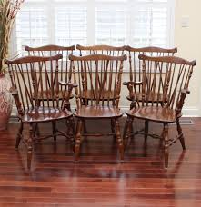 Ethan Allen Dining Room Chairs by Six Ethan Allen