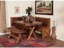 Sunny Designs Sedona Breakfast Nook Set With Side Bench 0222RO