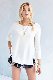 project social t ava tunic top in white lyst