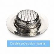 2 pcs sink drain cover 4 5 dia littlemax stainless steel sink