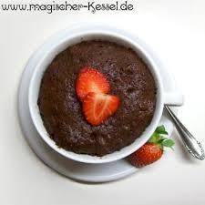 mikrowellenkuchen 3 schokoladige rezepte frisch gebacken