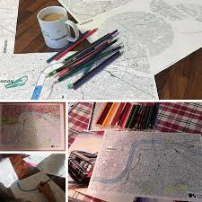 People Colouring Our Downloadable Maps Last Year