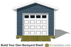 12x16 Storage Shed Plans by 12 16 Garage Door Shed Plansgarage Plans With U2013 Venidami Us