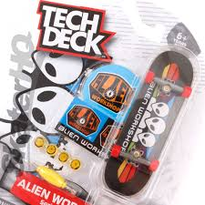 Tech Deck Finger Skateboard Tricks by Tech Deck Alien Workshop Spectrum Series 2 Skater Hq