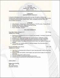 General Administrative Assistant Resume 5