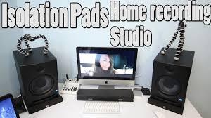 100 Eco Home Studio Recording Monitors Isolation Pads Adam Hall PAD ECO 2