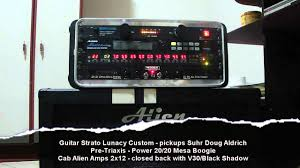 Mesa Boogie Cabinet 2x12 by Alien Amp Cab 2x12 Youtube