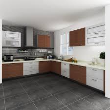 Kenya Fashionable Customized Melamine And HPL Kitchen Cabinet
