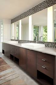 38 Bathroom Mirror Ideas To Reflect Your Style - Freshome Mirror Ideas For Bathroom Double L Shaped Brown Finish Mahogany Rustic Framed Intended Remodel Unbelievably Lighting White Bath Oval Mirrors Best And Elegant Selections For 12 Designs Every Taste J Birdny Luxury Reflexcal Makeover Framing A Adding Storage Youtube Decorative Trim Creative Decoration Fresh 60 Unique