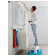 bolmen badezimmerhocker weiß