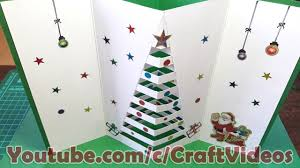How To Make Christmas Cards For Kids 2018 Pop Up Greeting At Home