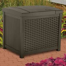 suncast 22 gallon resin deck box reviews wayfair