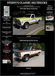 Steiny's Classic 4x4 Trucks Competitors, Revenue And Employees ... Jada Toys 4x4 Trucks Chevrolet Cheyenne Ford Bronco 1829946608 Truck Tire Chains Grip 4x4 Bedford Mj 4 Votrac 1954 Chevy 1 Ton X Rat Rod Flat Bed Truck With 42 Iroks Old 2018 F150 Lariat For Sale In Perry Ok Jfd95978 1980s Chevy 2019 20 Top Upcoming Cars Lifted Trucks Built 2017 Gmc Sierra Crew Cab Denali Youtube Cooler Off Roads Unbelievable Extreme Crossing River Offroad Super Modified St Damase 201803 By Asttq 4k De Truckss Mudding