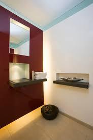 gäste wc mit waschnische indirekte beleuchtung