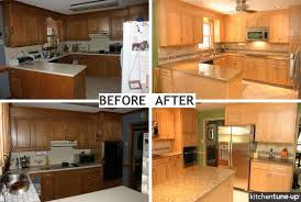 Bellmont Cabinets Sumner Washington by Replacing Kitchen Cabinet Doors Before And After Edgarpoe Net