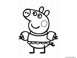 Peppa Pig George Pumpkin Stencil by Peppa Pig Coloring Creative Coloring Page Ideas Tv Land