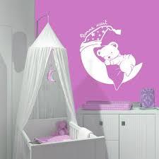 stickers ours chambre bébé sticker nounours rêveur stickers center
