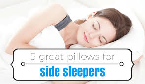 Best Pillows for Side Sleepers Buying Guide 2017