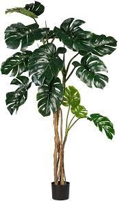 kunstpflanze splitphilodendron creativ green höhe 170 cm