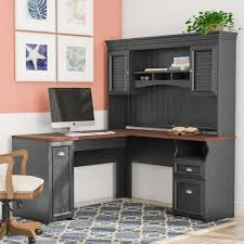 Shaped Computer Desk Modern L Shaped Desk With Hutch L Shaped Wall