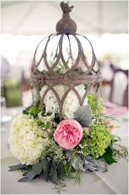 Rustic Vintage Styled Wedding Centerpieces