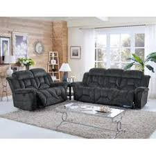 Berkline Reclining Sofa And Loveseat by Dual Recliner Sofa With Table